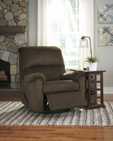 Ashley Furniture Swivel Glider Recliner, Cocoa