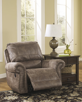 Ashley Furniture Swivel Glider Recliner, Gunsmoke