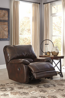 Ashley Furniture Swivel Glider Recliner, Saddle