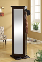 Swivel Mirror Storage Cabinet