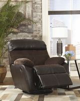 Ashley Furniture Swivel Rocker Recliner, Coffee