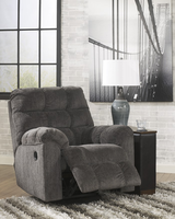Ashley Furniture Swivel Rocker Recliner, Slate