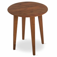 Tag Furniture 203147 Clybourn Side Table - Acacia