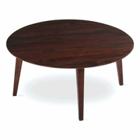 Tag Furniture 203221 Clybourn Coffee Table - Walnut finish