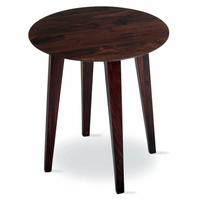 Tag Furniture 203222 Clybourn Side Table - Walnut finish