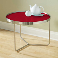 Tag Furniture 370041 Barlow Tall Table Red