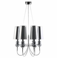 Tapestry Stainless Steel Chandelier, Silver [FREE SHIPPING]