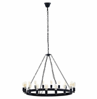 """Teleport 43"""" Chandelier, Brown [FREE SHIPPING]"""
