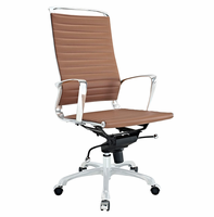 Tempo Highback Office Chair, Tan [FREE SHIPPING]