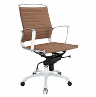 Tempo Mid Back Office Chair, Tan [FREE SHIPPING]
