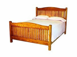 The Camden Platform Bed with Matching Footboard