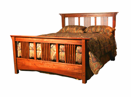 The Lucerne Platform Bed with Matching Footboard