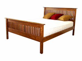 The Pembroke Platform Bed with Matching Footboard