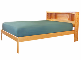 The Portland Platform Bed with Low Footboard