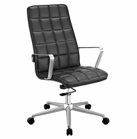 Tile Highback Office Chair, Black [FREE SHIPPING]
