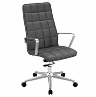 Tile Highback Office Chair, Gray [FREE SHIPPING]