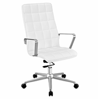 Tile Highback Office Chair, White [FREE SHIPPING]