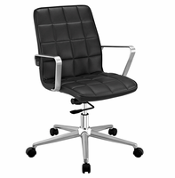 Tile Office Chair, Black [FREE SHIPPING]