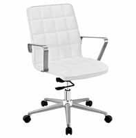 Tile Office Chair, White [FREE SHIPPING]