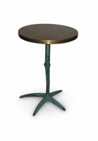 URBIA Furniture Elements Pavo End Table Antique Brass
