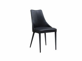 URBIA Furniture Metro Auwell Dining Chair Black Set of 2