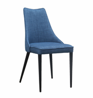 URBIA Furniture Metro Auwell Dining Chair Blue Set of 2