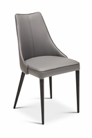 URBIA Furniture Metro Auwell Dining Chair Charcoal Set of 2