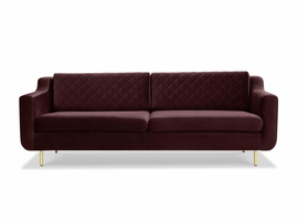 URBIA Furniture Metro Bailor Sofa Plum Purple