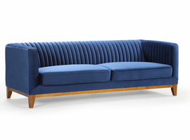URBIA Furniture Metro Chloe Sofa Blue