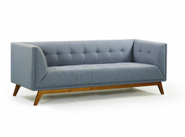URBIA Furniture Metro Clark Sofa Blue