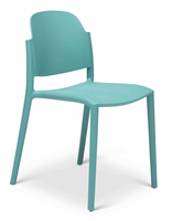 URBIA Furniture Metro Lenon Side Chair Surfin Blue Set of 4