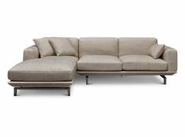 URBIA Furniture Metro Pense LAF Chaise Sectional Beige