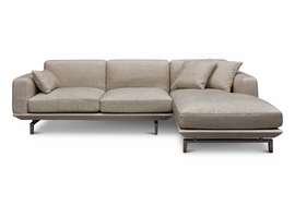 URBIA Furniture Metro Pense RAF Chaise Sectional Beige