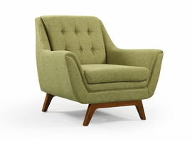 URBIA Furniture Metro Valerie Accent Chair Green