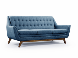 URBIA Furniture Metro Valerie Sofa Blue