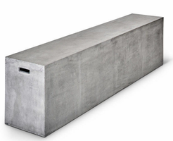 URBIA Furniture Mixx Una Bench Dark Gray