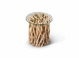 URBIA Furniture Naturals Driftwood End Table Driftwood
