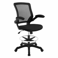 Veer Drafting Chair, Black [FREE SHIPPING]