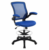 Veer Drafting Chair, Blue [FREE SHIPPING]