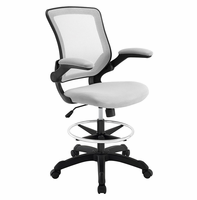 Veer Drafting Chair, Gray [FREE SHIPPING]