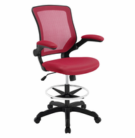 Veer Drafting Chair, Red [FREE SHIPPING]