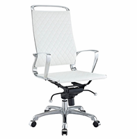 Vibe Highback Office Chair, White [FREE SHIPPING]