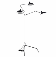 View Stainless Steel Floor Lamp, Black [FREE SHIPPING]