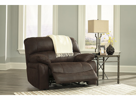 Ashley Furniture Wide Seat Power Recliner, Truffle