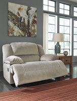 Ashley Furniture Wide Seat Recliner, Granite