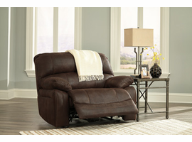 Ashley Furniture Wide Seat Recliner, Truffle