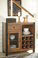 Ashley Furniture Wine Cabinet