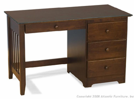 Winsor  Desk with 4 Drawer