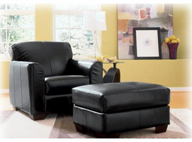 Wisconsin Leather Ottoman Collection