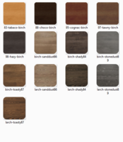 WOOD COLOR FINISHES